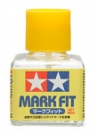 TAMIYA 87102 MARK FIT DECAL SOLUTION (40ML BOTTLE) (12/BX)