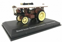 MAGAZINE 4654102 BURRELL SCENIC SHOWMAN S LOCOMOTIVE. WINSTON CHURCHILL *THE GREATEST SHOW ON EARTH*