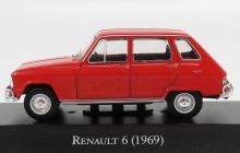 MAGAZINE ARG27 1969 RENAULT 6. RED