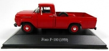 MAGAZINE ARG42 1959 FORD F100. RED