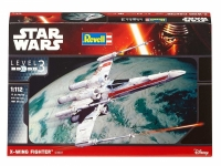 REVELL 03601 1:112 X-WING FIGHTER *STAR WARS*. LEVEL 3 PLASTIC MODELKIT
