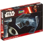 REVELL 03602 1:121 DARTH VADER S TIE FIGHTER *STAR WARS*. LEVEL 3 PLASTIC MODELKIT