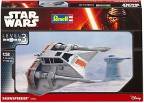REVELL 03604 1:52 SNOWSPEEDER *STAR WARS*. LEVEL 3 PLASTIC MODELKIT