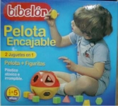 BIBELON 4550 PELOTA ENCAJABLE