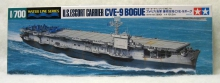 TAMIYA 31711 CVE9 BOGUE CARRIER 1:700