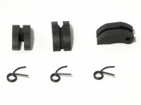 HPI 87151 TEFLON CLUTCH SHOE/SPRING SET