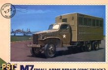PST 72057 1:72 M 7 SMALL ARMS REPAIR MILITARY TRUCK (GMC