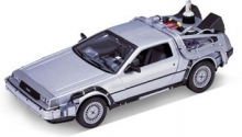WELLY 22441 1:24 DELOREAN TIME MACHINE BACK TO THE FUTURE II