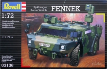 REVELL 03136 1:72 FENNEK MILITARY RECON, VEHICLE