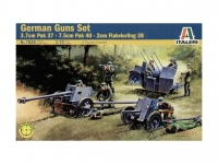 ITALERI 7026 GERMAN GUNS SET 1:72