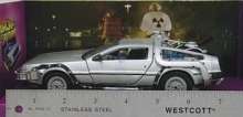 WELLY 22443 DELOREAN BACK FUTURE I 1:24