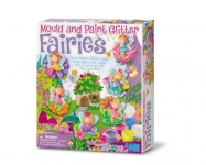 4M 3524 GLITTER FAIRY MOULDS PAINT
