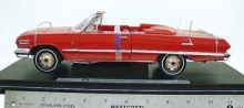 WELLY 19865 1963 CHEVROLET IMPALA 1:18 RED OR WHITE OR BLACK
