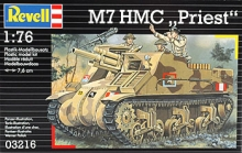 REVELL 03216 1:76 M 7 105MM PRIEST