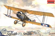 RODEN 404 SOPWITH 1 1/2 STRUTTER ( SINGLE SEATS ) BOMBER 1:48