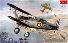 RODEN 405 GLOSTER SEA GLADIATOR MK.I 1:48