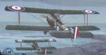 RODEN 407 SOPWITH 1 1/2 STRUTTER COMIC FIGHTER 1:48