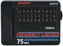 DURATRAX 3110 75MHZ RADIO FREQUENCY CHECKER