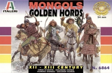 ITALERI 6864 1:32 XII-XIII CENTRY: MONGOLS GOLDEN HORDS (8