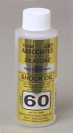 ASSOCIATED 5436 SILICONE SHOCK OIL 60WT