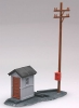 ATLAS 705 TELEPHONE SHANTY POLE KIT HO