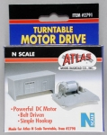 ATLAS 2791 TURNTABLE MOTOR DRIVE UNIT N