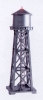 MODELPOWER 2630 WATER TOWER LIGHTED W-FIGURES BUILT-UP N