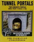 WOODLAND C 1152 CONCRETE SINGLE PORTALS (2) KIT N