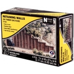 WOODLAND C 1160 TIMBER RETAINING WALLS (6) KIT N