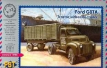 PST 72065 1:72 FORD G8TA TRACTOR WITH SEMI-TRAILER
