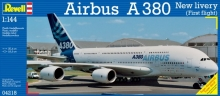 REVELL 04218 1:144 AIRBUS A 380 FIRST FLIGHT AIRCRAFT NEW LIVERY