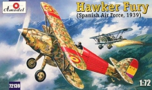 AMODEL 72139 1:72 HAWKER FURY (SPAIN)