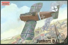 RODEN 036 1:72 JUNKERS D I LATE