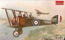 RODEN 054 1:72 SOPWITH F1 CAMEL TWO SEAT