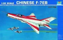 TRUMPETER 02217 CHINESE F 7 E B 1:32