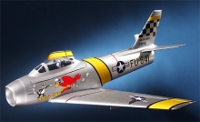 ALFA MODELS ALF103 F-86 SABRE DUCTED FAN ARF