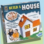 CREATIVE 5299 BUILD A 3-D HOUSE W/BRICKS KIT