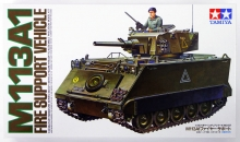 TAMIYA 35107 1:35 US M 113 A1 FIRE SUPPORT SET