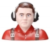 GREATPLANES GPMQ 9054 PILOT 1-3 CIVILIAN RED