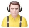 GREATPLANES GPMQ 9060 PILOT 1-4 CIVILIAN YELLOW