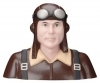 GREATPLANES GPMQ 9105 PILOT 1-3 WW1 GERMAN BROWN