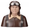 GREATPLANES GPMQ 9110 PILOT 1-4 WW1 GERMAN BROWN