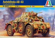 ITALERI 6451 1:35 AUTOBINDA AB43 203(I) ARMORED VEHICLE