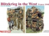 DRAGON 6347 1:35 GERMAN SOLDIERS BLITZKRIEG IN THE WEST FRANCE