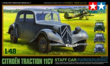 TAMIYA 32517 1:48 CITROEN TRACTION 11 CV STAFF CAR