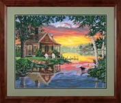 DIMENSIONS 91315 SUNSET CABIN PBN 20X16