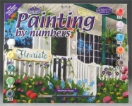 ROYAL PAL3 ADULT PAINT BY NUMBER FLOWER SHOPPE 15X11-1:4