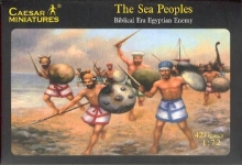 CAESAR 48 1:72 BIBLICAL ERA EGYPTIAN ENEMY THE SEA PEOPLES