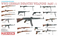 DRAGON 3809 1:35 WWII GERMAN INFANTRY WEAPONS SET PART 1