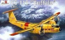 AMODEL 1418 1:144 DE HAVILLAND C 115 BUFFALO